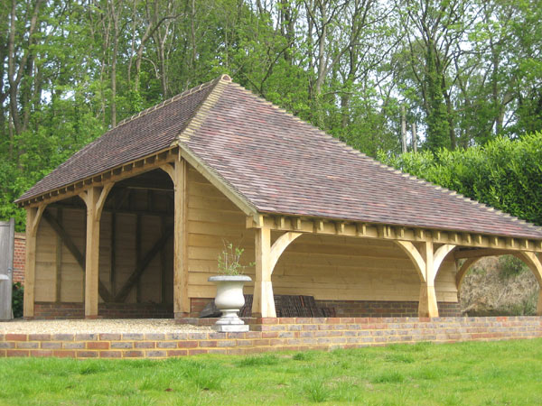 Gardens offices east sussex eastbourne bexhill lewes for Timber frame house kits for sale